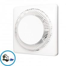 Вентилятор осевой вытяжной /DISC-4С/ D-100 с обратным клапаном ЭРА